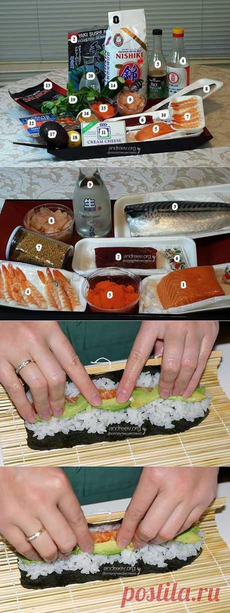 Как приготовить суши в домашних условиях Руководство How to make sushi at home