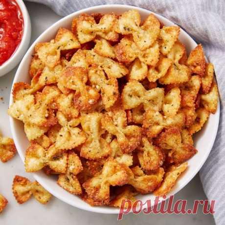 👌 Хрустящие чипсы из макарон за 30 минут, рецепты с фото