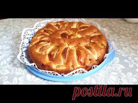 Яблочный пирог очень очень вкусный