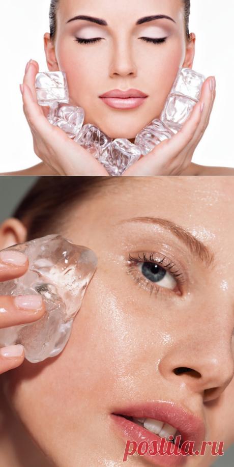 Косметический лёд: замораживаем красоту