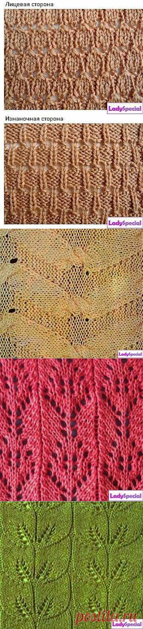 Узоры для вязания шапок спицами | Домохозяйки
