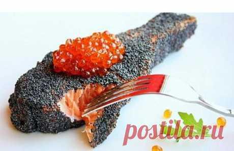 Рыбные стейки в маковой панировке | Самые вкусные кулинарные рецепты