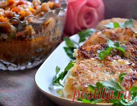 Капустно-рисовые котлеты – кулинарный рецепт