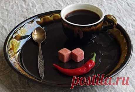 Кофе с корицей и перцем | Кофе