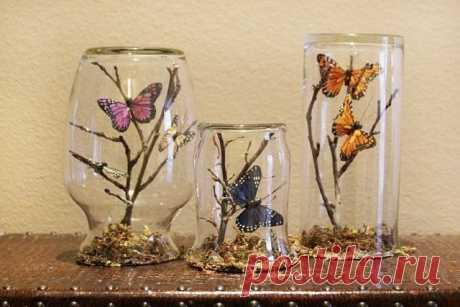 Весенний подарок: Яркие первые бабочки — Рукоделие