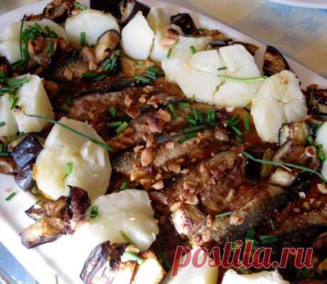 Маринованная скумбрия с картофелем и овощами - пошаговый рецепт с фото - как приготовить, ингредиенты, состав, время приготовления - Леди Mail.Ru
