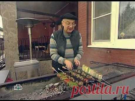 Сталик: Шашлык с овощами