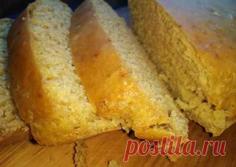 Кукурузный хлеб без дрожжей - пошаговый рецепт с фото. Автор рецепта Ирина 🌱🌳 . - Cookpad