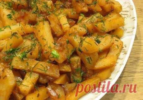 Как приготовить вкусная картошка в мультиварке на режиме выпечка - рецепт, ингредиенты и фотографии
