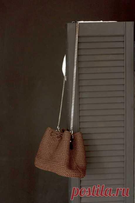 Купить сумка из трикотажной пряжи ручной работы у мастера без наценок   DIY Рукоделие - Рукоделие