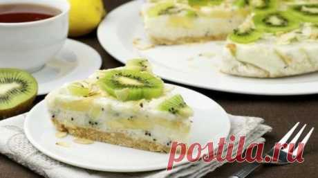 Йогуртовый торт (без выпечки)