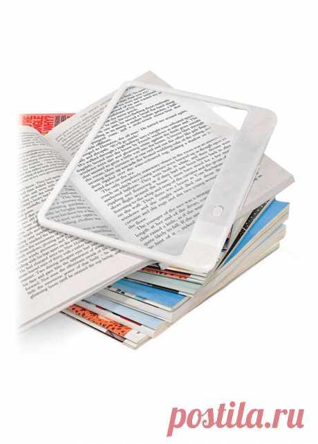 Лупа с подсветкой «Читатель +» | Временная классификация | Другое | Другое | Другое | Категории товаров | Большой Универсальный Магазин