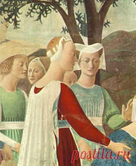 Пьеро делла Франческа Посещение Царя Соломона Царицей Савской