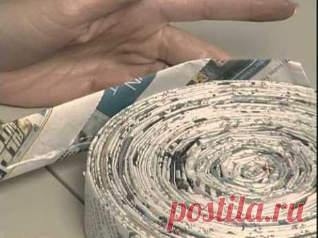 Amazing Art Show #23: Making Pots with Newspaper
