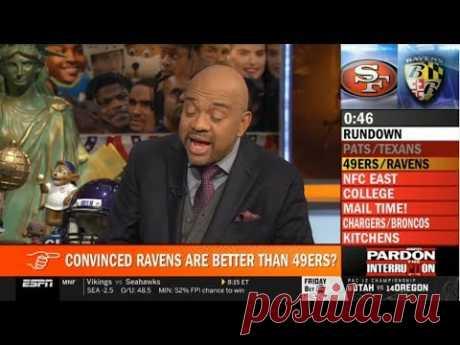 ESPN Pardon The Interruption 12/2/2019 | Michael Wilbon on Ravens def. 49ers & Texans def. Patriots