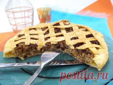 Слоеный пирог с мясом и баклажанами: пошаговый рецепт