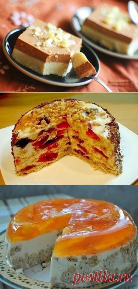 Аппетитнейшие тортики без выпечки
