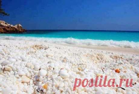 На греческом острове Тасос