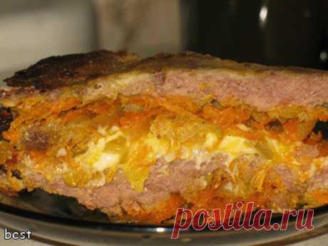 ¡El hígado principescamente - el plato sabroso, que se deshace en la boca simplemente!.