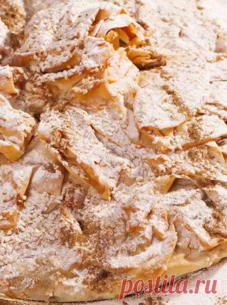 """Печём """"Сфиху"""" Очень вкусный куриный пирог с ароматными приправами. А так же, делаем сами тесто Фило."""