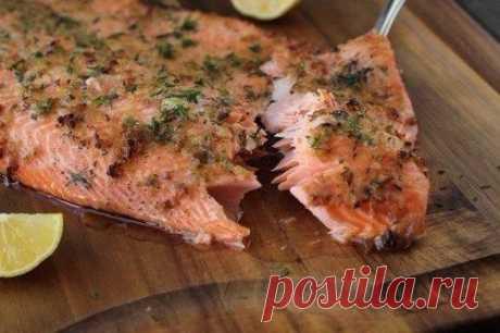 Запеченная форель — Sloosh – кулинарные рецепты