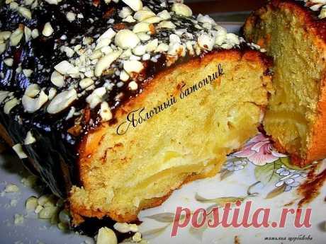 Яблочный батон | Русская кухня
