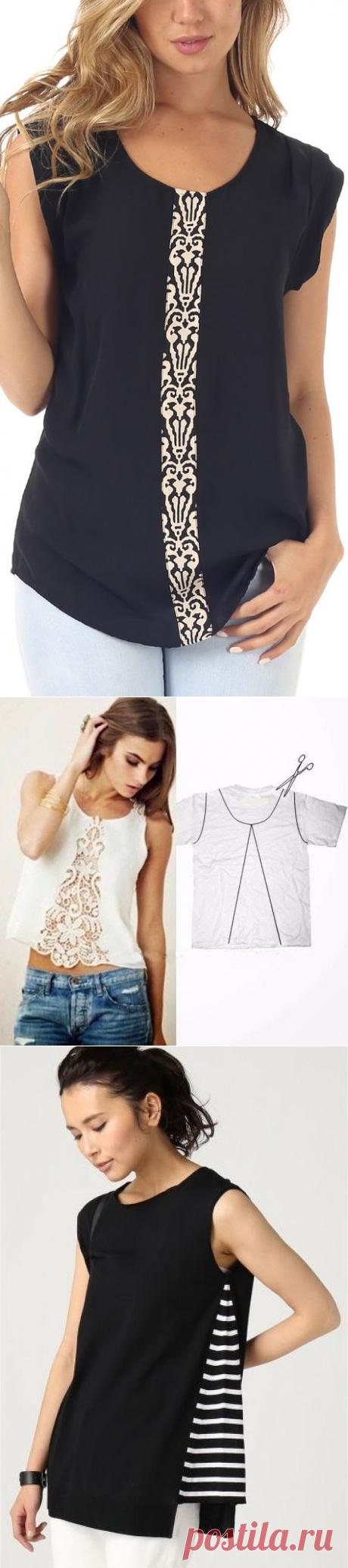 Идеи переделок: как расшить одежду — Сделай сам, идеи для творчества - DIY Ideas