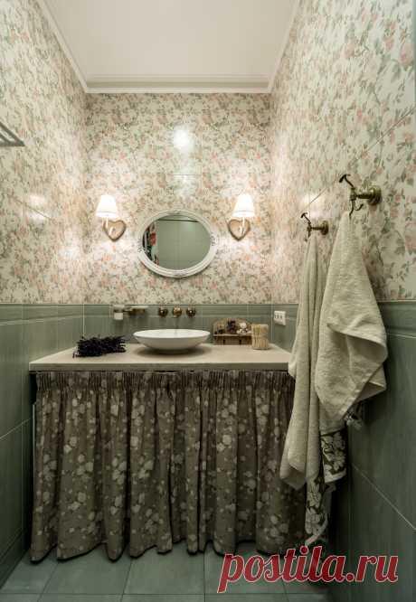 Как из однушки сделать двушку: квартира в стиле прованс | Свежие идеи дизайна интерьеров, декора, архитектуры на InMyRoom.ru