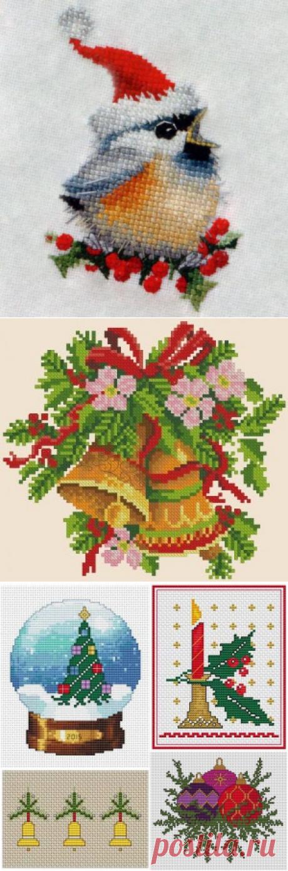 Поиск на Постиле: рождественская вышивка