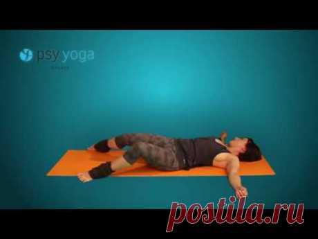 Упражения йоги. Комплекс Крокодил (макара крия)
