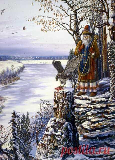 Artist Vsevolod Borisovich Ivanov. Part 3.