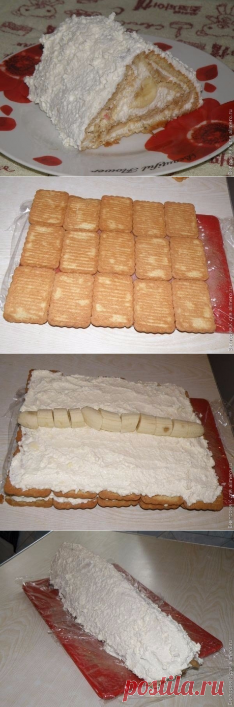 Как приготовить творожный пирог без выпечки - рецепт, ингредиенты и фотографии