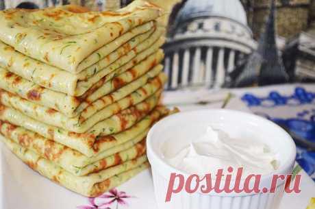 Кабачковые блинчики - рецепт с фото - как приготовить - ингредиенты, состав, время приготовления - Дети Mail.Ru