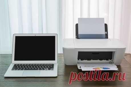 Как соединить принтер с ноутбуком и настроить печать