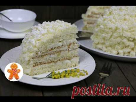 "Итальянский Торт ""Мимоза"" ✧ Torta Mimosa ✧ Mimosa Italian Cake (English Subtitles)"