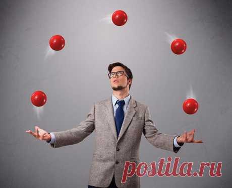 Представьте себе, что жизнь — это игра, построенная на жонглировании пятью шариками.