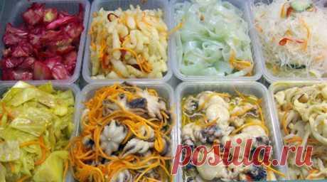 Salads in Korean. 6 looney tasty recipes!