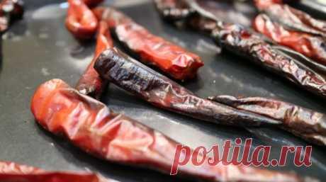 Как коптить чили перцы или как приготовление Мексиканские перцы Чипотле