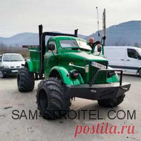 Самодельный вездеход на базе ГАЗ-63: фото+описание Интересный вездеход, построил умелец из г. Тячев, Закарпатской области. Давайте ознакомимся с конструкцией этой самоделки более подробно
