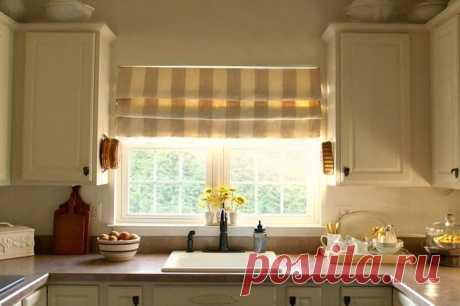 Как пошить шторы на кухню своими руками — мастер класс