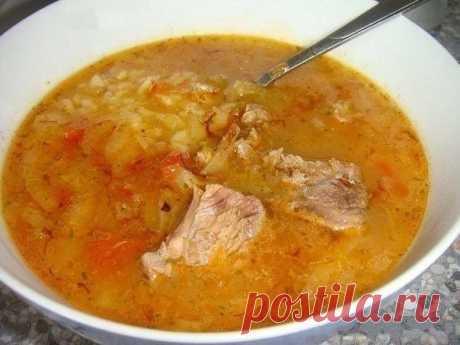 Как приготовить густой грузинский суп харчо - рецепт, ингридиенты и фотографии