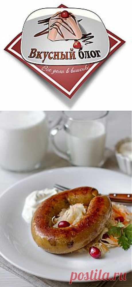Пошаговый фото-рецепт картофельной колбасы   Вторые блюда   Вкусный блог - рецепты под настроение