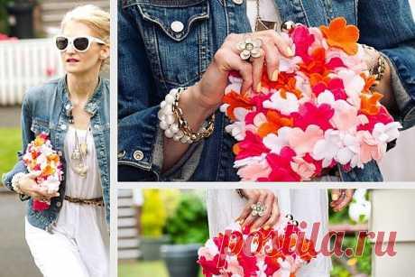 Совершеннейшее лето (мастер-класс) / Сумки, клатчи, чемоданы / Модный сайт о стильной переделке одежды и интерьера