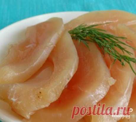 Basturma de la pava en la multicocción - poshagovyy la receta de cocina de la foto en Повар.ру