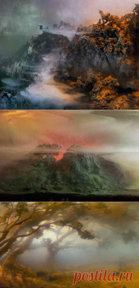 Удивительные пейзажи от Кима Кивера (28 фото) - Fishki.Net | Фишкина картинка