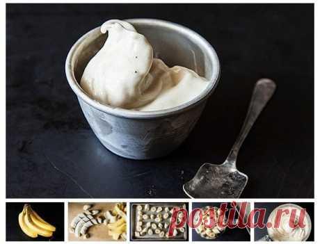 Удивительное мороженое из одного ингредиента — Мегаздоров