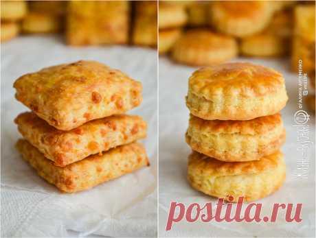 Печенье с сыром, 2 рецепта • Жизнь - вкусная! Кулинарный сайт Галины Артеменко Любите сыр? А пробовали ли вы когда-нибудь печенье с сыром? Оно невероятное! Хрустящее, слоистое, и приотовить его можно с любым сыром!