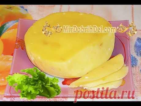 🍕 ДОМАШНИЙ СЫР. Как приготовить вкусный сыр ИЗ ТВОРОГА