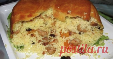 The grandmother from Azerbaijan taught to cook magnificent pilaf. In life it was impossible more tasty \u000a\u000a\u000aI do not change this recipe! \u000a\u000a\u000a\u000a\u000a\u000a\u000a\u000a\u000a\u000aShakhsky pilaf — a crown dish of many Azerbaijani hostesses. Pilaf received such name for very simple reason: this unusually tasty dish was given tolk …