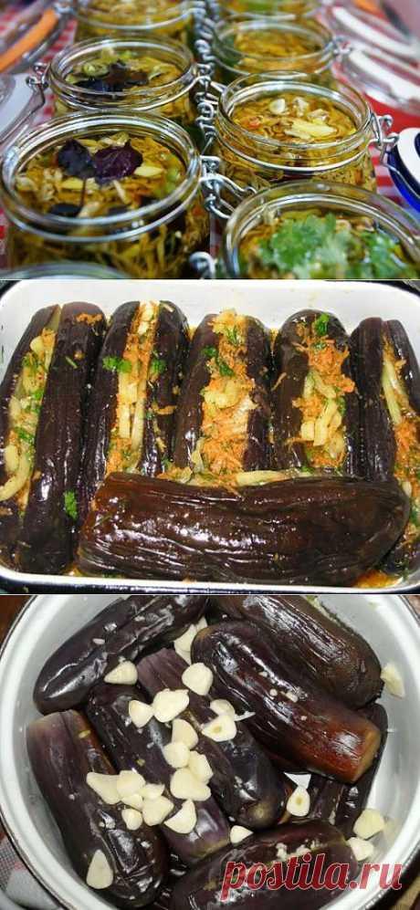 Консервируем баклажаны: варианты заготовок на зиму / Простые рецепты